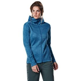 Berghaus Kamloops Hooded Fleece Jacket Women Light Galaxy Blue Marl